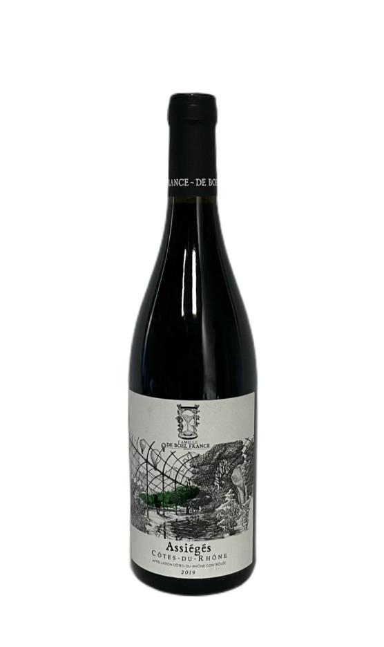 Côtes-du-Rhône Rouge Assiégés 2019 | Soif. | Ateliers dégustation, vente de vins et spiritueux à Limoges