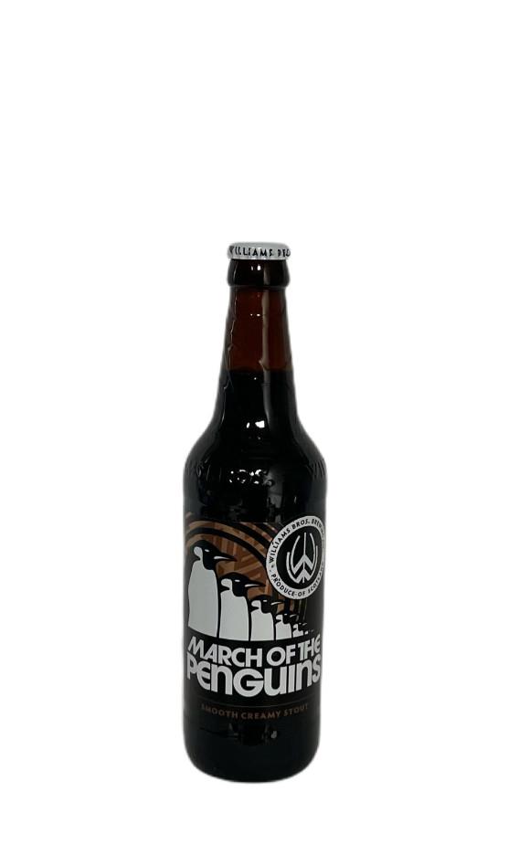 WILLIAMS BROS. / Forth Brewery March of the Penguins Ale / Porter et Stout Ecosse | Soif. | Ateliers dégustation, vente de vins et spiritueux à Limoges