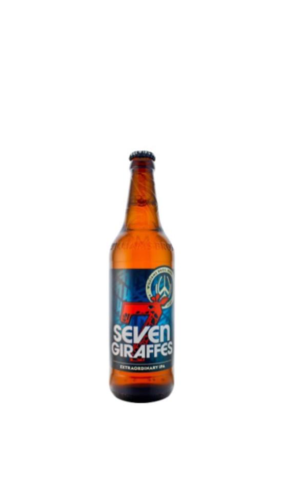 WILLIAMS BROS / Forth Brewery Seven Giraffes Ale / IPA Ecosse | Soif. | Ateliers dégustation, vente de vins et spiritueux à Limoges