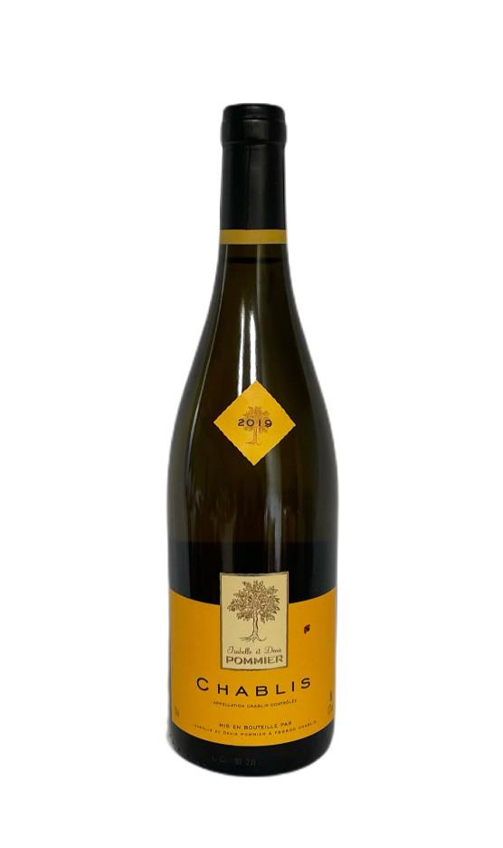 Chablis Blanc 2019 Domaine Pommier | Soif. | Ateliers dégustation, vente de vins et spiritueux à Limoges