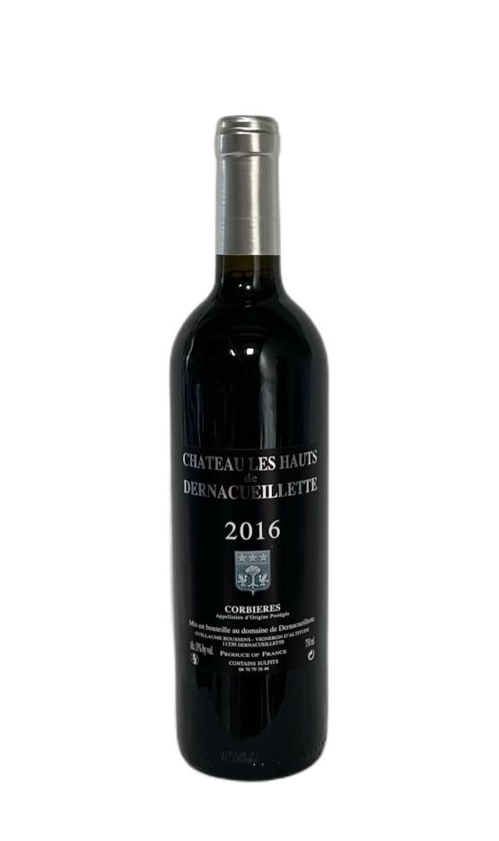 Corbières Rouge Chateau les Hauts de Dernacueillette 2016 | Soif. | Ateliers dégustation, vente de vins et spiritueux à Limoges