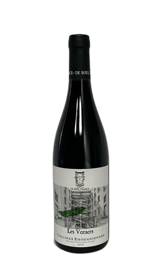 IGP Collines Rhodaniennes Rouge Les Voraces 2019 | Soif. | Ateliers dégustation, vente de vins et spiritueux à Limoges