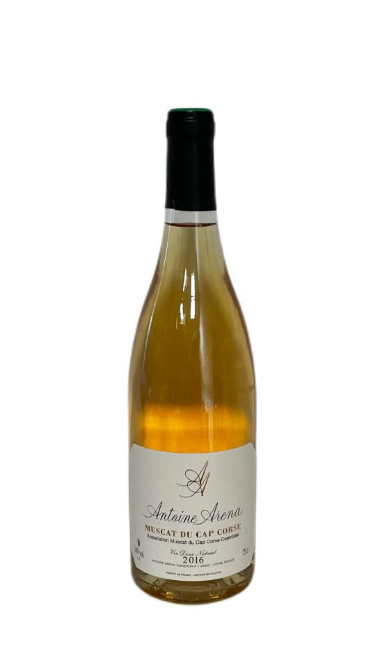 Muscat du Cap Corse Blanc liquoreux 2016 Antoine Arena | Soif. | Ateliers dégustation, vente de vins et spiritueux à Limoges