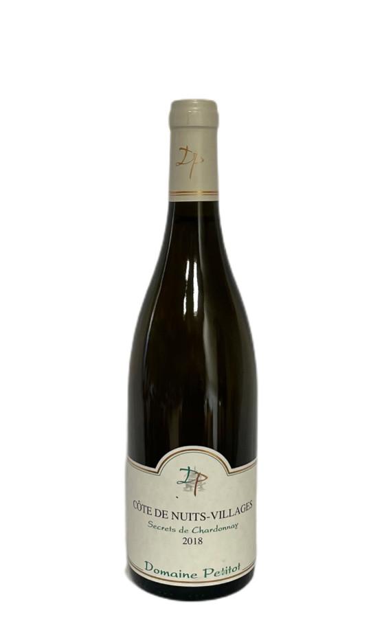 Côtes de Nuits-Villages Blanc Secrets de Chardonnay 2018 | Soif. | Ateliers dégustation, vente de vins et spiritueux à Limoges