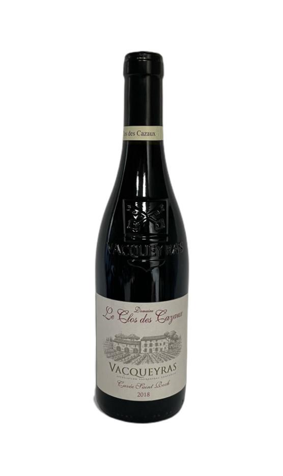 Vacqueyras Rouge Saint Roch 2019 | Soif. | Ateliers dégustation, vente de vins et spiritueux à Limoges
