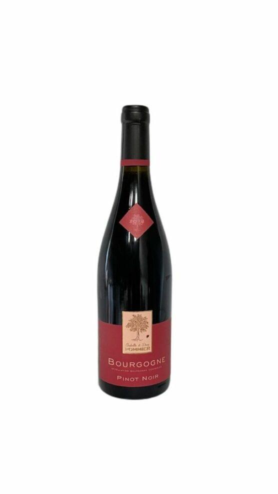 Bourgogne Pinot Noir Domaine Pommier 2018 Soif. Ateliers dégustations vins caviste Limoges